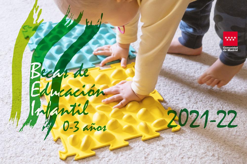 Becas PRIMER CICLO DE Educación Infantil 2021-22