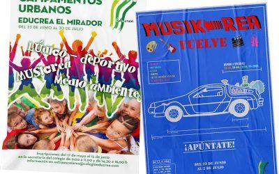 CAMPAMENTOS URBANOS EDUCREA EL MIRADOR JUNIO Y JULIO – 2021