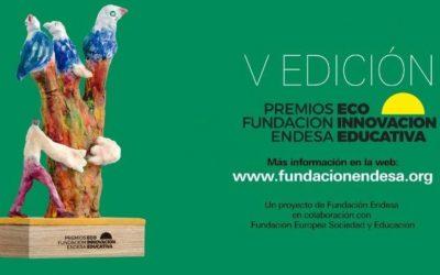 SOMOS FINALISTAS en los premios nacionales de ECO INNOVACIÓN Educativa